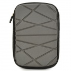 "Irregular Geometric Figure Pattern 8"" Protective Neoprene TPU Bag Pouch for Ipad MINI - Grey"