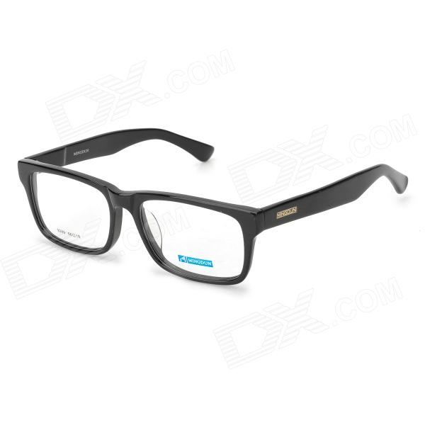 купить MINGDUN MD9249 Fashion Cellulose Acetate Myopia Frame Eyeglasses - Black недорого