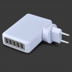 Adaptador de carregador de energia USB USB de 5 portas para IPHONE, IPAD, mais -White