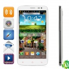"iNew M1 Quad-Core Android 4.2 WCDMA Bar Phone w/ 5.0"" IPS, GPS and Wi-Fi - White"