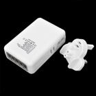 5-Port USB + UK Plug Power Carregador Adaptador para Iphone 5 / Ipad MINI + Mais - Branco
