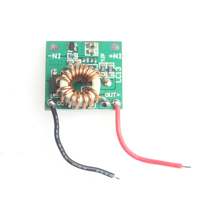SZXDY03 T6 U2 2.2A 5-Mode LED Driver Circuit Board for DIY Flashlight - Green (DC 12~16V)