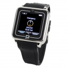 "TOP WATCH TW208 GSM Watch Phone w/ 1.54"" Resistive Screen, Quad-Band and Bluetooth - Black"