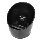 Mug Style Voice Amplifier Music Speaker for Iphone 4 / 4S - Black