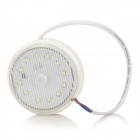 3W 50lm 6500K 12-LED White Light Motion Sensor LED Spotlight - White (85-265V)