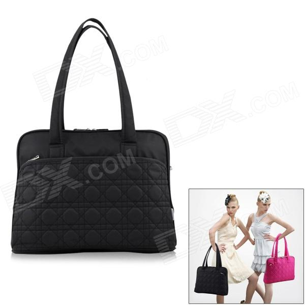 SENDIWEI S-301 Women's Fashion Tote Bag Shoulder Bag for 14'' Laptop - Black