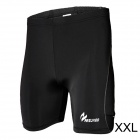 ARSUXEO AR502 Close-fitting Elastic Middle Pants for Men - Black (Size XXL)