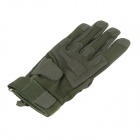 Stylish Outdoor Full-Finger Gloves - Army Green ( Size-L / Pair)
