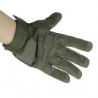Style extérieur Gants complet doigts - Army Green (Taille-L / paire)