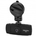 "1080P HD 5.0 MP 2.7"" TFT Wide Angle Car DVR w/ GPS Module / GPS Track / 2-LED / AV-out / Mini HDMI"