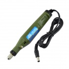 ABC AB-800 Mini Handheld Electric Adjustable Speed Electric Drill / Grinder - Army Green (220V)