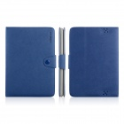 ENKAY ENK-7206 Protective PU Leather Case Cover Stand for Amazon Kindle Fire HD 8.9 - Blue