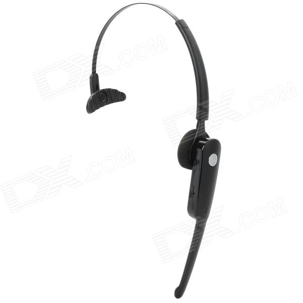 Blue Tiger BLK-M29 Bluetooth v2.0 Headset w/ Charging Dock - Black + Silver