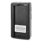 AC Battery Power Adapter Charger w/ USB Output for BlackBerry Z10 - Black (US Plug)