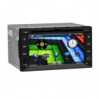 "Freudige J-2615MX 6.2 ""Touch Screen Auto-DVD-Spieler w / GPS, Bluetooth, FM / AM Radio, AUX, RDS - Schwarz"