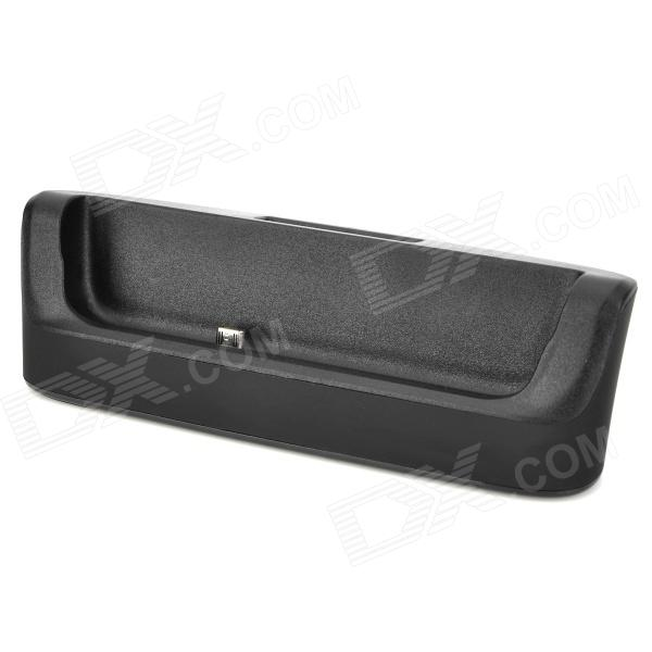 2-in-1 Battery Charger + Charging Docking Station for BlackBerry Q10 - Black