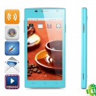 "H3038 Android 4.1 GSM Bar Phone w / 4,5 ""Screen, Quad-Band, WLAN, Dual-SIM-und FM - Blau"