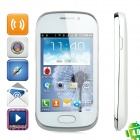 "S3802i Android 4.0 GSM Bar Phone w/ 3.5"" Capacitive Screen, Wi-Fi, Quad-Band and Dual-SIM"