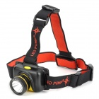 LED PUMP L50520 700lm 3-Mode White Rechargeable Headlamp w/ CREE XM-L T6 - Black + Yellow