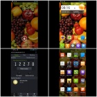 "JIAYU G3S MTK6589 Quad-Core Android 4.2.1 WCDMA Bar Phone w/ 4.5"" HD, Wi-Fi and GPS - Black + Silver"