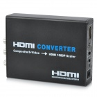 Composite AV/S-Video to 720p HDMI V1.2 Converter - NTSC/PAL (100~240V AC)