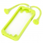 Gampsocleis Inflata UV Style Protective Silicone Case for iPhone 5 - Green
