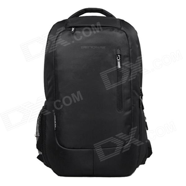 SENDIWEI Fashion Travel Backpack for 15.6 Notebook Laptop - Black sendiwei fashion travel backpack for 15 6 notebook laptop black
