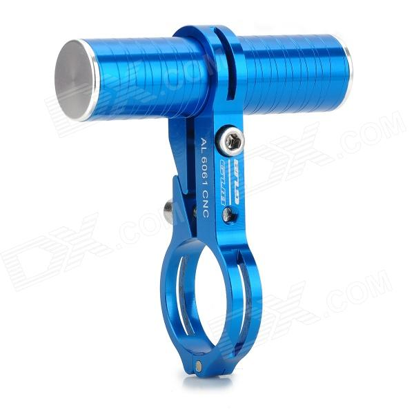 GUB Aluminum Alloy Bike Handle Bar Mount Headlamp / Flashlight / Speedometer Holder - Blue powerful handlight outdoor tactical flashlight 1300lm tactical led flashlight torch outdoor waterproof aluminum alloy