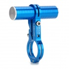GUB Aluminum Alloy Bike Handle Bar Mount Headlamp / Flashlight / Speedometer Holder - Blue