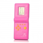 Reminiscent Sliding Blocks Game Console - Pink (2 x AA)