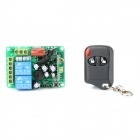 AFSC02 2-Way Wireless Remote Power Switch w/ Remote Controller  - Green (AC 110~220V)