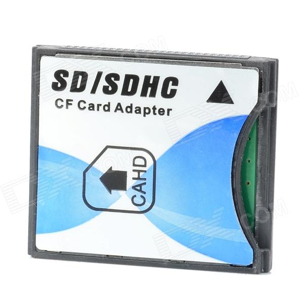 SDHC / SD to CF Type-II Card Adapter - White + Black + Blue david buckham executive s guide to solvency ii