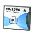 SDHC / SD to CF Type-II Card Adapter - White + Black + Blue
