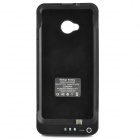 Portable 3800mAh External Battery Back Case w/ Stand for HTC One / M7 - Black