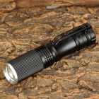 803 50lm 3-Mode White Zooming Flashlight w/ Cree XP-E Q5 - Black (1 x AA)