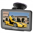 "CAPF DH760-P 5.0 ""TFT Touch Screen Win CE 6.0 GPS Navigator w / FM / 128M RAM / 4 GB Speicher"