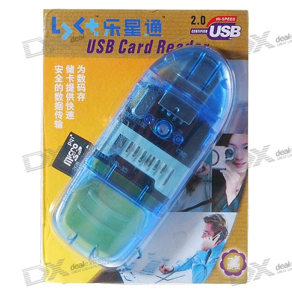 USB 2.0 SDHC SD/MMC Card Reader