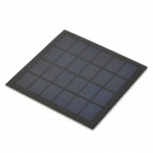 SW-015 1.5W Polysilicon Solar Panel - Black