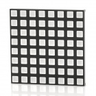 8 x 8 RGB LED Display Common Anode Square Dot Matrix Module - Black + White