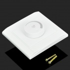100W 180 grados Rotary LED Dimmer - Blanco (220)