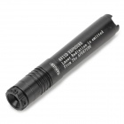 660138 Einstellbare 5mW 650nm Aluminum Alloy Red Laser Pointer - Schwarz (1 x 10440)