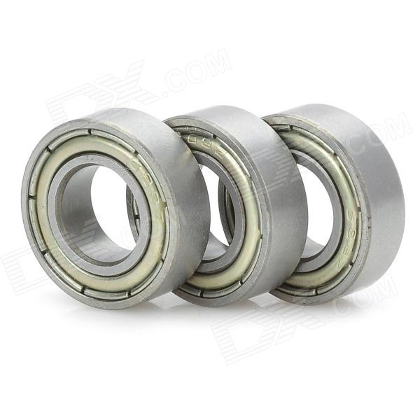 GZ3D03 Rapid Prototyping Stainless Steel Bearings for 3D Printer - Silver (3 PCS) 10 pcs lot dx7 printer head eco solvent ink damper for roland vs420 vs540 vs640 vs300 for mutoh 1618 1614 printer