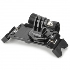 Aluminum Alloy + ABS Bicycle Holder + Tripod Mount Adapterfor Gopro 2 / 3 / 3+ - Black