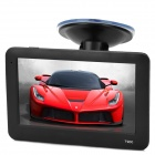 "T900 4.3"" TFT Touch Screen Win CE 6.0 Car GPS Navigator w/ 4GB / Brazilian Map / FM - Black"