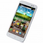 "N6300 MTK6589 Quad-Core Android 4.2.1 WCDMA Bar Phone w/ 5.0"" HD , Wi-Fi, FM and GPS - White"