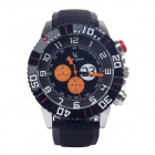 Super speed V6 V0179 Stylish Simulation Racer Style Quartz Wrist Watch for Men - Black (1 x LR626)
