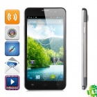 "F6770 Quad-Core Android 4.2 WCDMA Bar Phone w/ 5.0"" Screen, Wi-Fi and GPS - Black"