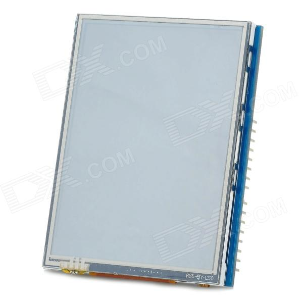 2.8  TFT LCD Touch Shield Module for Arduino - Silver + Blue + Black