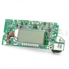 "B88 1.1"" LCD Mobile Power 5V Booster Circuit Board / Lithium Battery Charging PCB - Green"