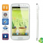 "CAESAR A9600 Quad-Core Android 4.2 WCDMA Bar Phone w/ 5.3"" Screen, Wi-Fi and GPS - White"